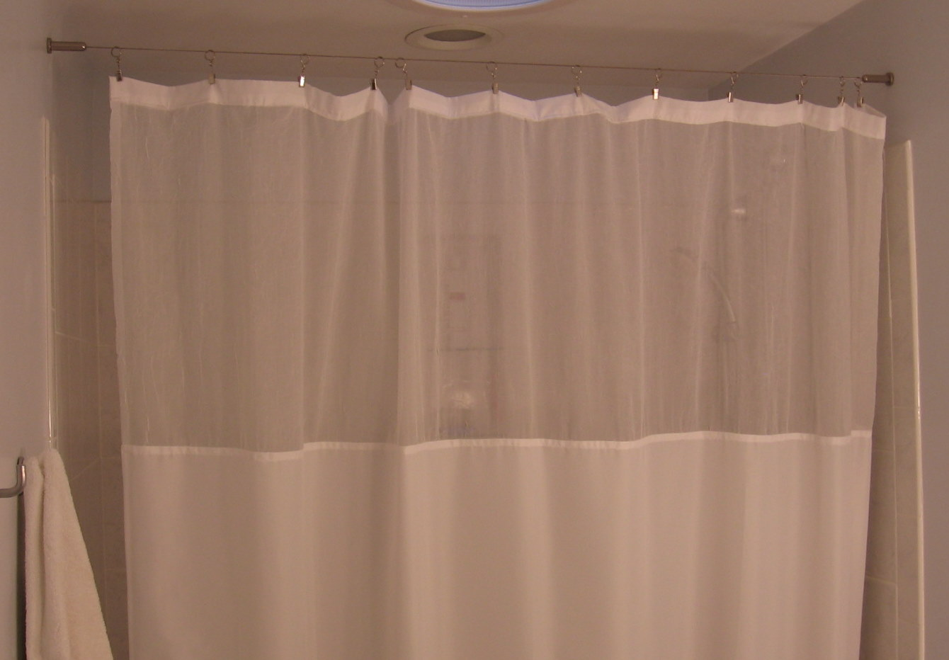 Jardin Sheer Curtain Panel Fluted Valances